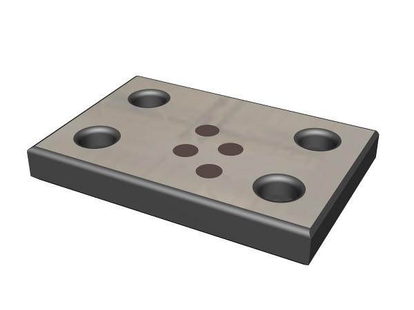 Wear Plates > JIS (B-Series) Wear Plates - Metric - SelfLube